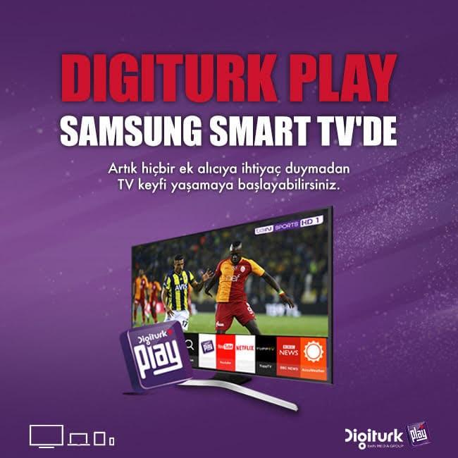 Digiturk Play Smart TV uygulamamız