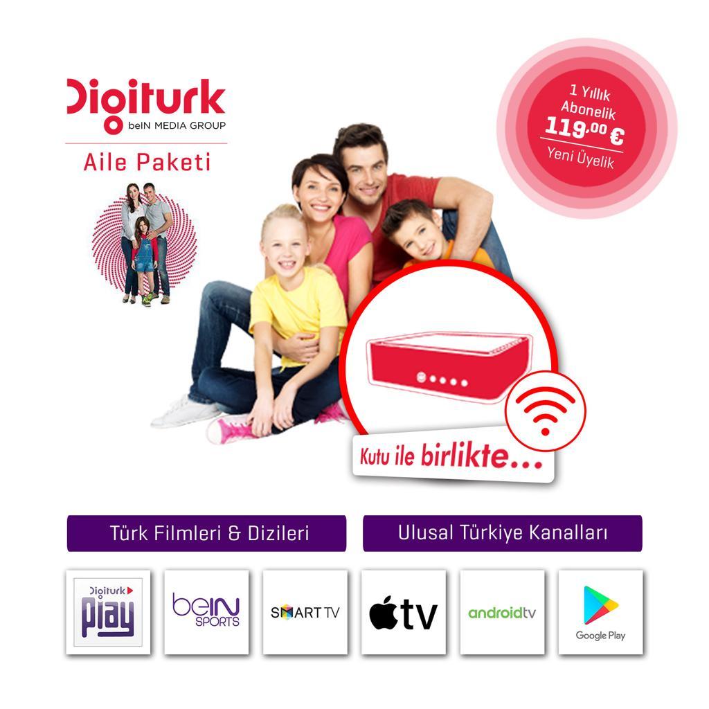 Digitürk play Aile paketi