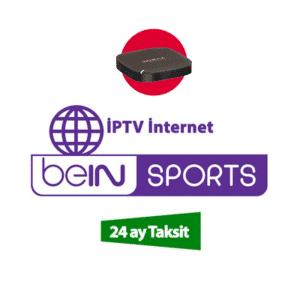 iptv interne beIN Sports 24 aylik spor paketi